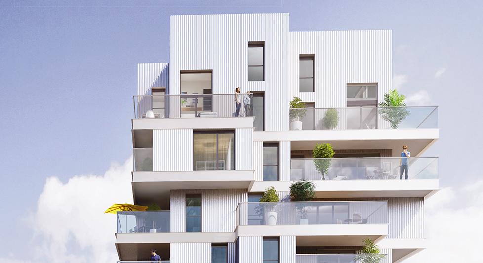 Programme immobilier Lyon 7ème (69007) Girondins / Jean Jaurès BOU21
