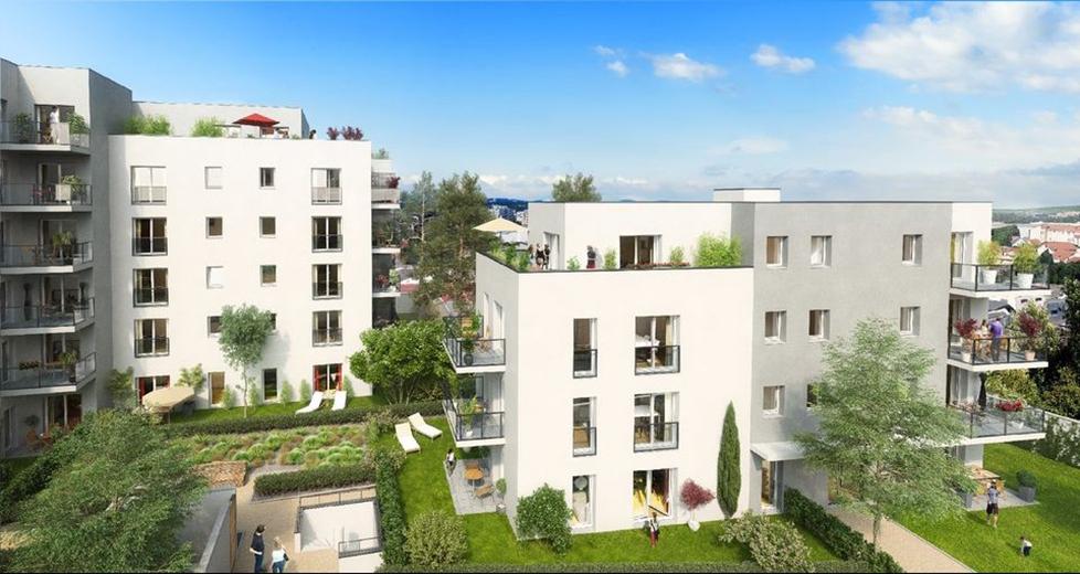 Programme immobilier Villeurbanne (69100) Aux portes de Montchat ICA4