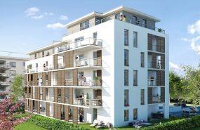 Programme immobilier VIN10 appartement à Sainte-Foy-les-Lyon (69110) Face au Parc Mont-Riant