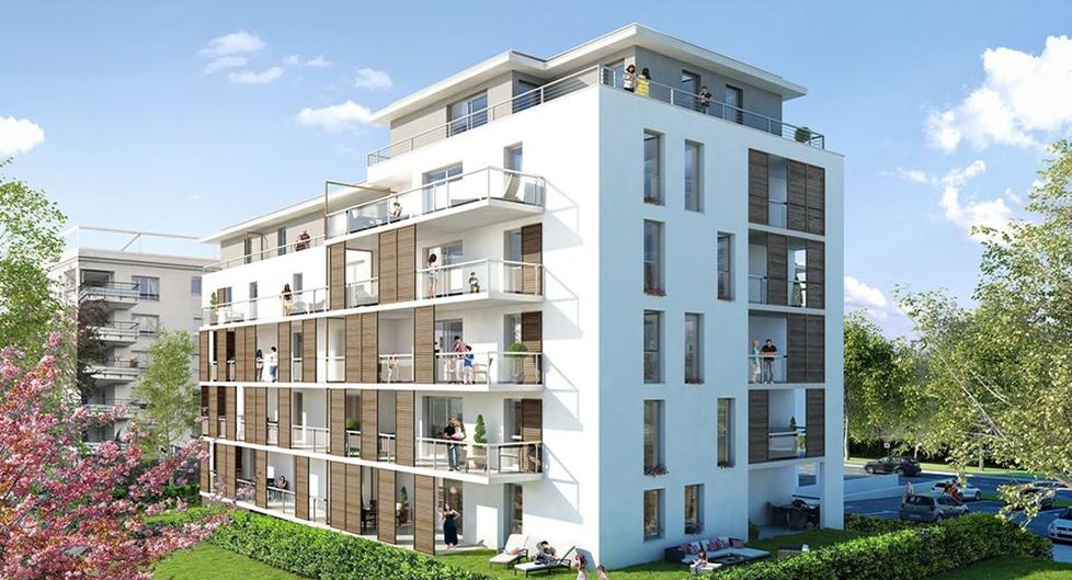 Programme immobilier Sainte-Foy-les-Lyon (69110) Face au Parc Mont-Riant BOW9