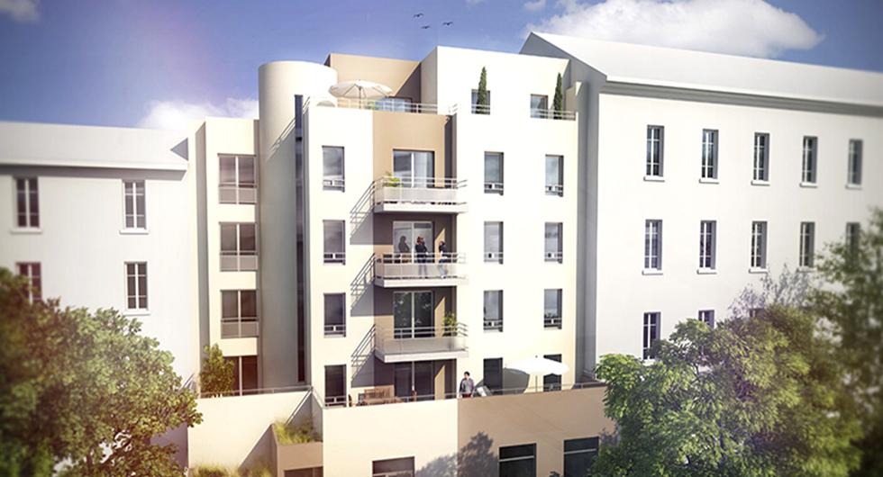 Programme immobilier CREA1 appartement à Villeurbanne (69100) FLACHET