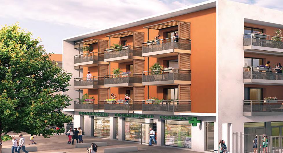 Programme immobilier Francheville (69340) Ouest Lyonnais EDO3
