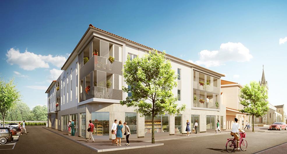 Programme immobilier Quincieux (69650) Plein centre NOH6