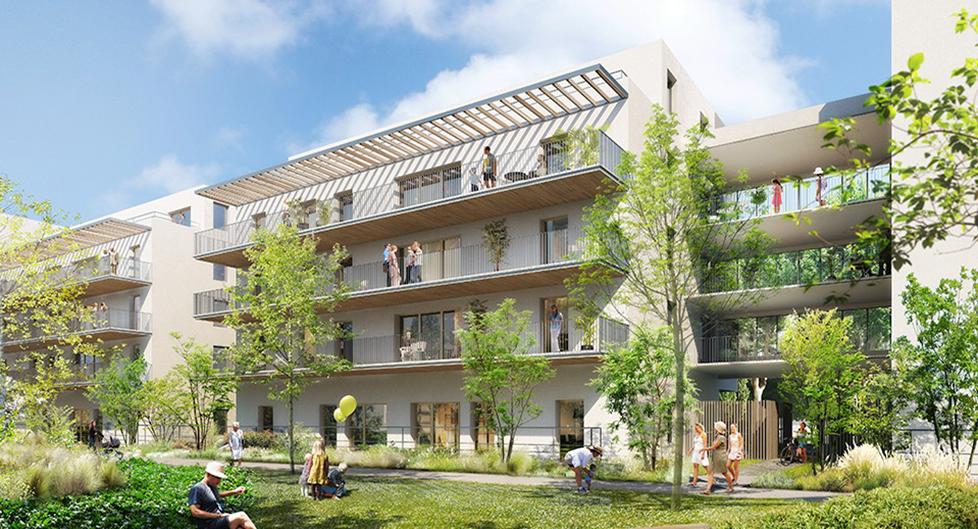 Programme immobilier Saint-Priest (69800) Proximité centre VIN7