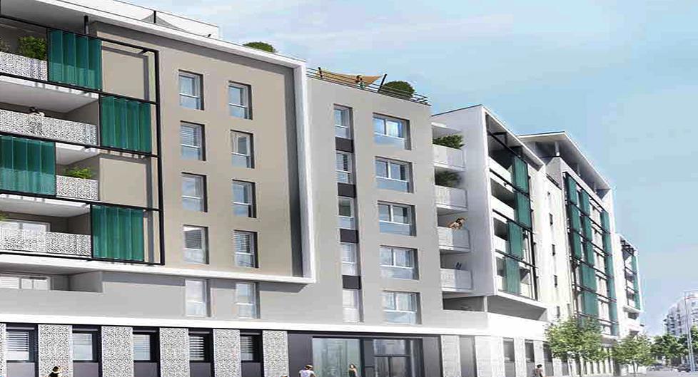 Programme immobilier Villeurbanne (69100) Proche Montchat ICA5