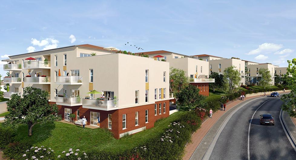 Programme immobilier Vernaison (69390) Centre NOH11