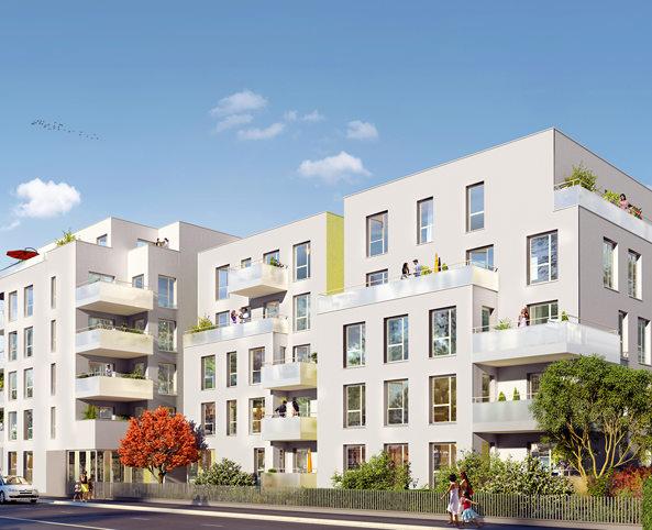 Programme immobilier Villeurbanne (69100) Gratte Ciel NP12