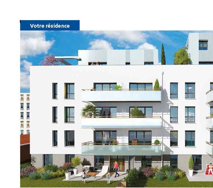 Programme immobilier Lyon 3ème (69003)  VAL8