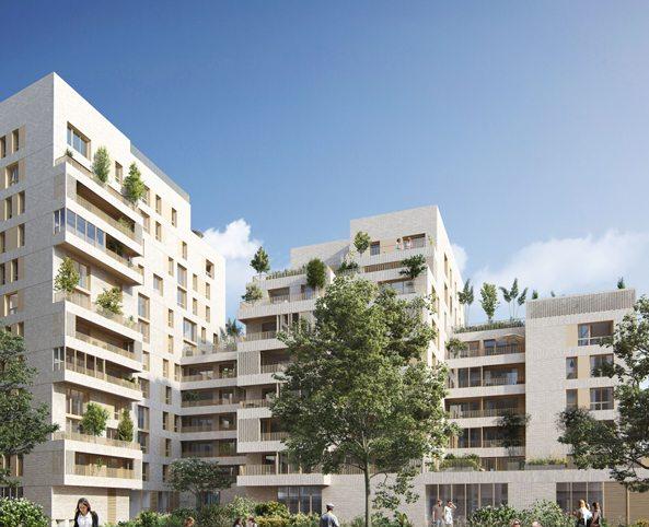 Programme immobilier NP14 appartement à Lyon 7ème (69007) GERLAND