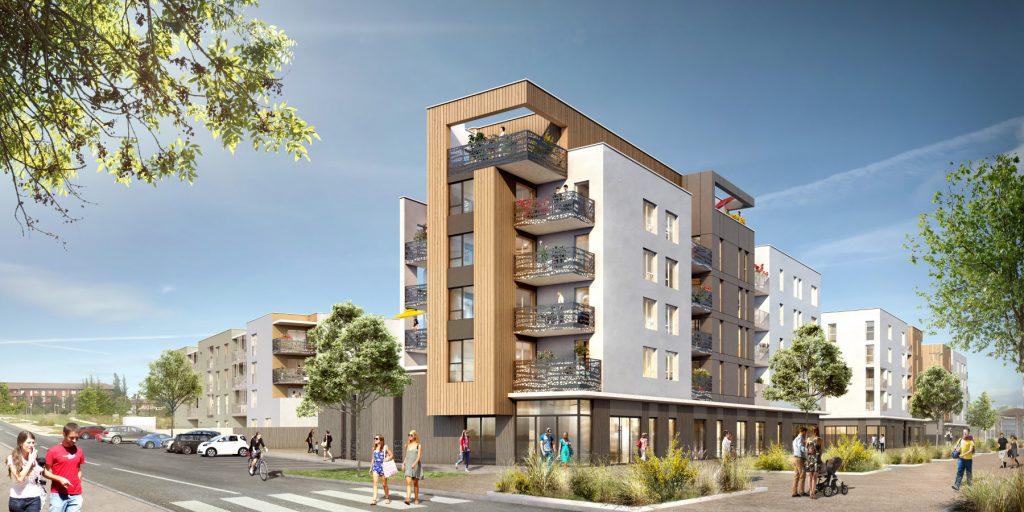 Programme immobilier Isle d'Abeau (38080)  NOH2