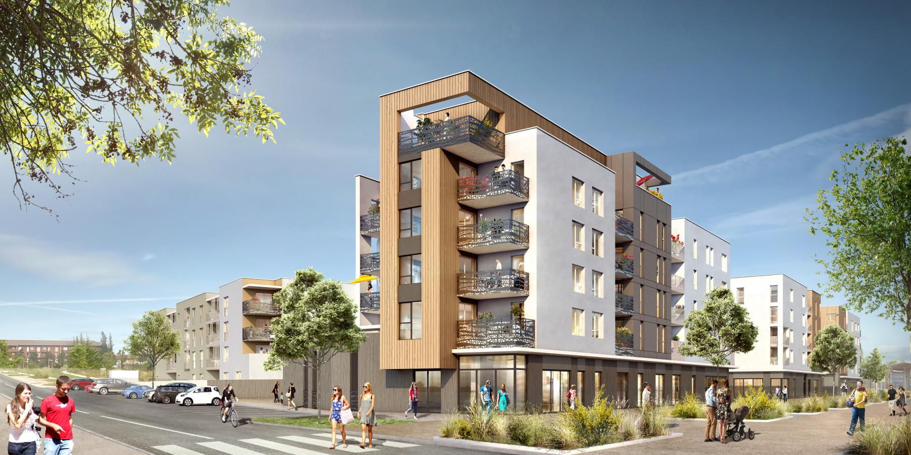 Programme immobilier NOH2 appartement à Isle d'Abeau (38080)