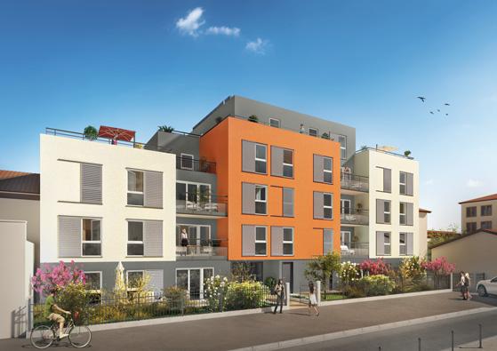 Programme immobilier Villeurbanne (69100) GRATTE CIEL NP10
