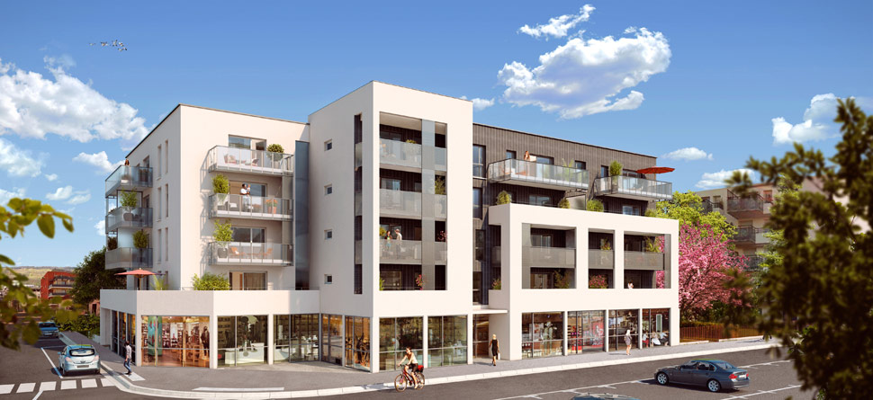 Programme immobilier Décines (69150) MAIRIE DECINES CHARPIEU NOH12