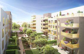 Programme immobilier NOH10 appartement à Bron (69500) TERRAILLON