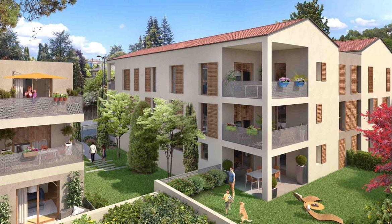 Programme immobilier Sainte-Foy-les-Lyon (69110) CENTRE VILLE OGI3
