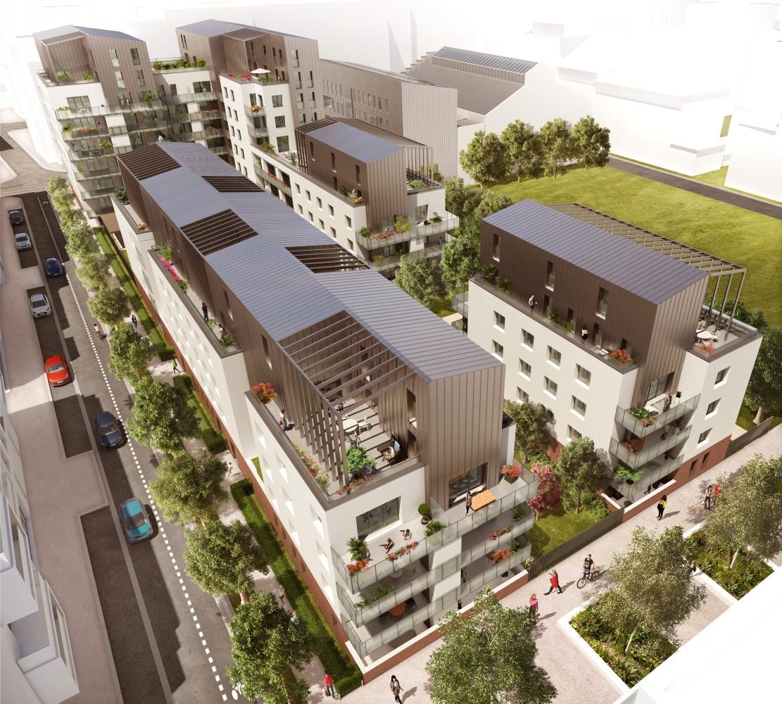 Programme immobilier NOH4 appartement à Lyon 8ème (69008)