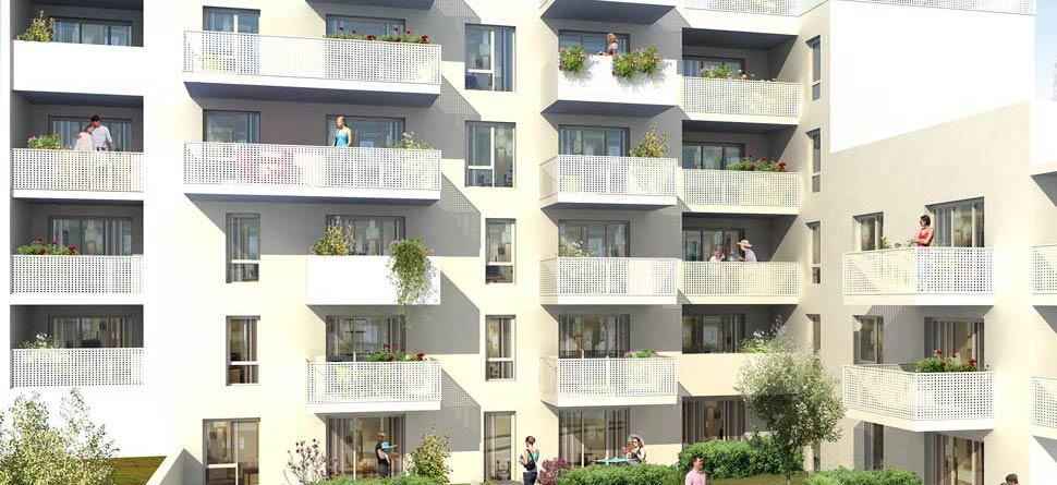Programme immobilier VAL10 appartement à Villeurbanne (69100) Proche Tram