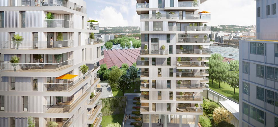 Programme immobilier Lyon 7ème (69007) JEAN JAURES ALT7
