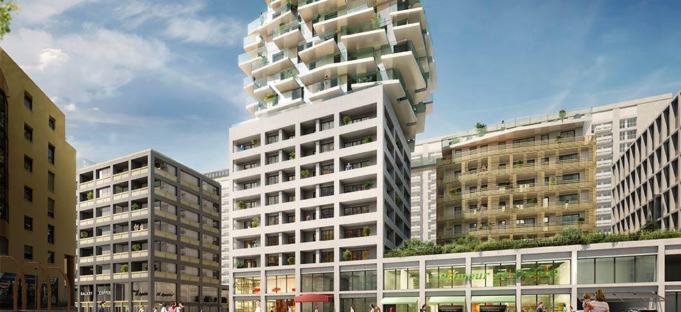 Programme immobilier VAL8 appartement à Lyon 3ème (69003) LA PART DIEU
