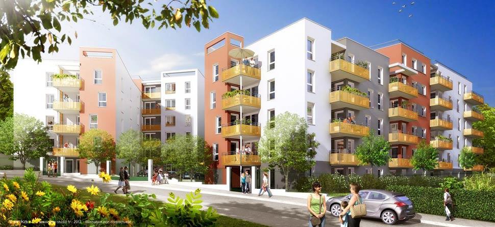 Programme immobilier VAL13 appartement à Vénissieux (69200)
