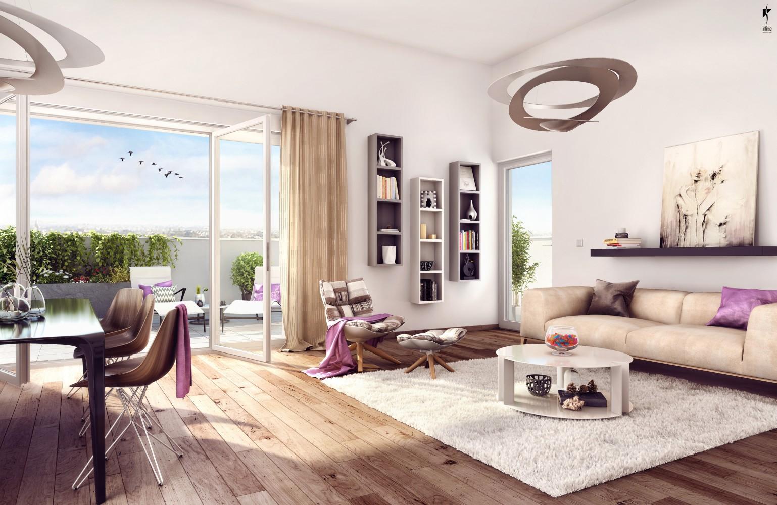 Programme immobilier Lyon 9ème (69009) SAINT RAMBERT Découvrez nos programmes loi Pinel