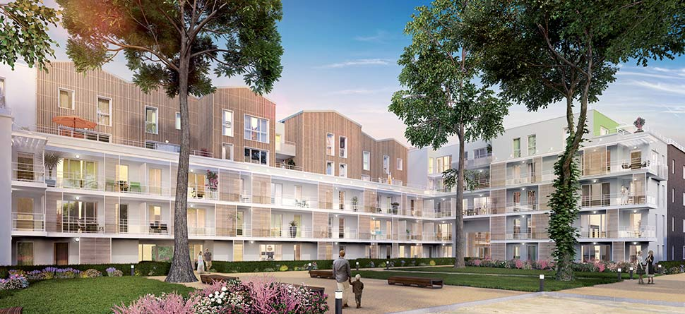 Programme immobilier Meyzieu (69330) CENTRE VILLE MEYZIEU PI2