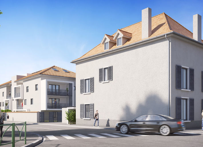 Programme immobilier Saint Laurent de Mûre (69720) CENTRE VILLE AST3