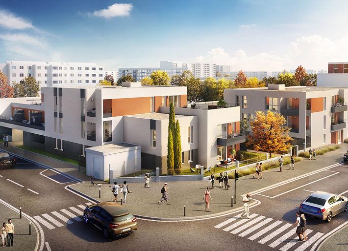 Programme immobilier Pierre-Bénite (69310)  EDO2