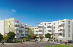 Programme immobilier NEO3 appartement à Saint-Priest (69800) PROCHE CENTRE VILLE
