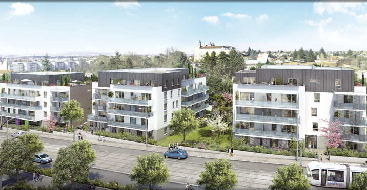 Programme immobilier Saint-Priest (69800) PROXIMITE TRAMWAY,COMMERCES VAL32