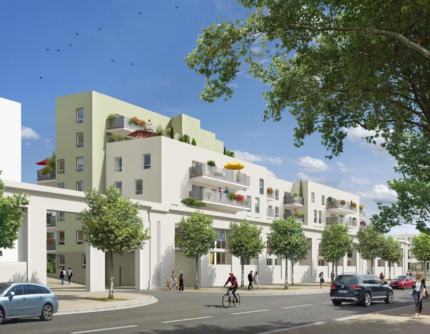 Programme immobilier Vaulx-en-Velin (69120) PROXIMITE TRAMWAY,METRO,BUS ET COMMERCES BOW7