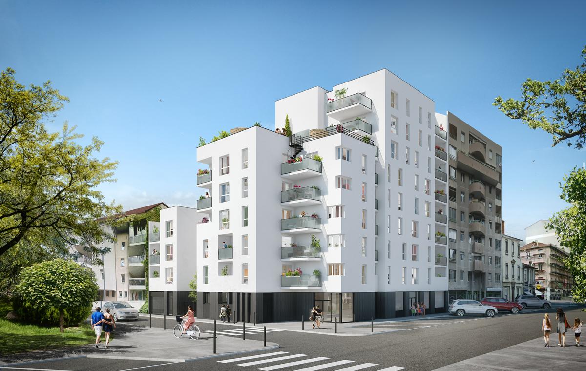 Programme immobilier Villeurbanne (69100)  VIN11