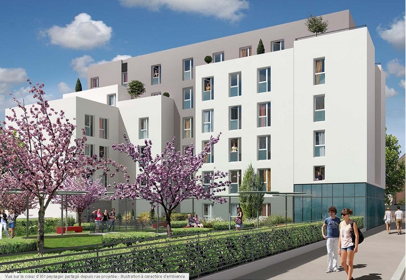 Programme immobilier Villeurbanne (69100)  VIN8