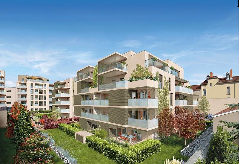 Programme immobilier AJA3 appartement à Lyon 6ème (69006) PROCHE BROTTEAUX