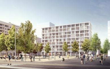 Programme immobilier Lyon 2ème (69002) CONFLUENCE ICA3