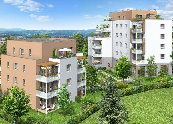 Programme immobilier BOW10 appartement à Caluire (69300)