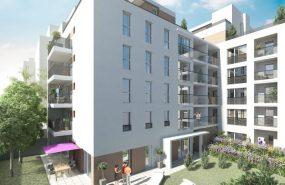 Programme immobilier PRO4 appartement à Villeurbanne (69100) GRANDCLEMENT