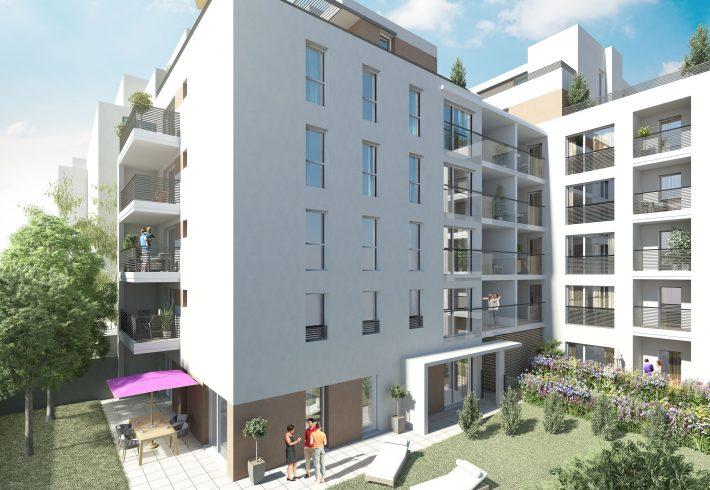 Programme immobilier Villeurbanne (69100) GRANDCLEMENT NP10