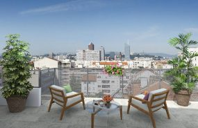 Programme immobilier BOW2 appartement à Villeurbanne (69100) GRATTE CIEL