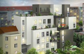Programme immobilier BOW1 appartement à Villeurbanne (69100) PROCHE COMMERCES
