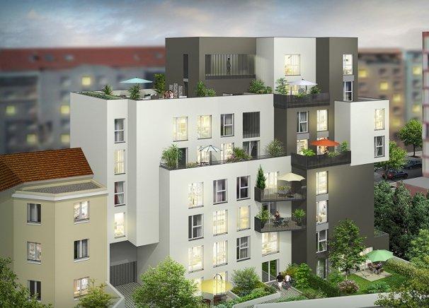 Programme immobilier Villeurbanne (69100) PROCHE COMMERCES CREA1