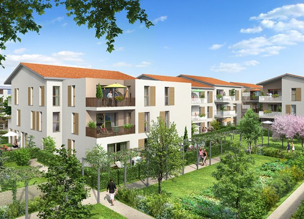 Programme immobilier BOW5 appartement à Saint-Priest (69800) CHATEAU DE SAINT PRIEST
