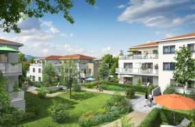 Programme immobilier BOW9 appartement à Sainte-Foy-les-Lyon (69110) CALME ET VERDOYANT