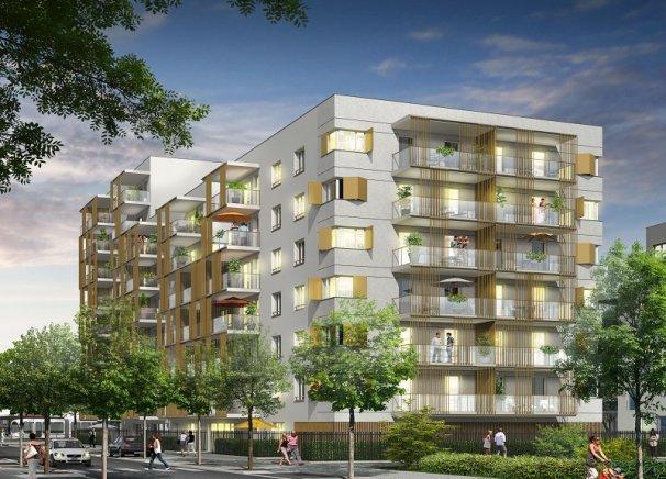 Programme immobilier Vaulx-en-Velin (69120) LA SOIE ICA9