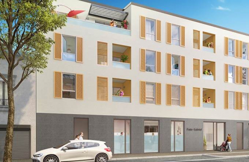 Programme immobilier Saint-Fons (69190)  CO2