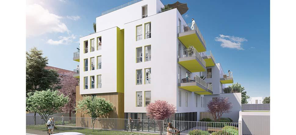Programme immobilier Villeurbanne (69100) PROCHE COMMERCES ICA5