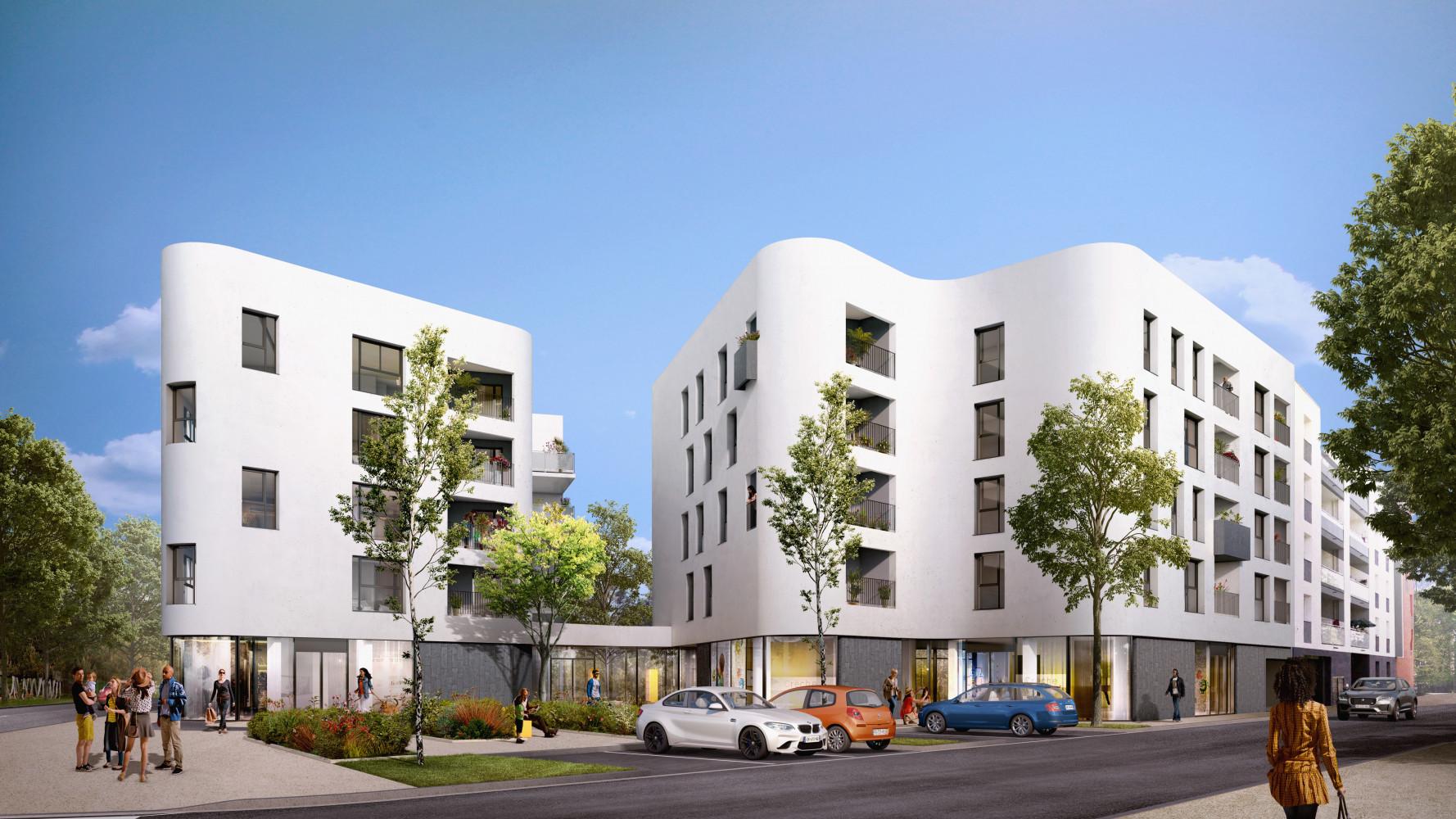 Programme immobilier NOH12 appartement à Décines (69150) CENTRE VILLE