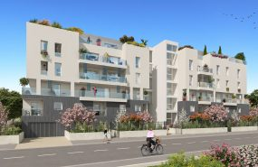 Programme immobilier KAB8 appartement à Villeurbanne (69100) CHATEAU GAILLARD