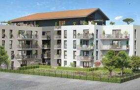 Programme immobilier KAB2 appartement à Villeurbanne (69100) PROXIMITE GRATTE CIEL