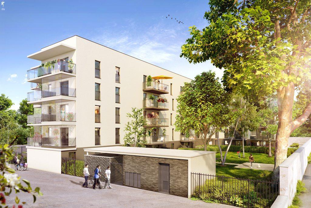 Programme immobilier Vaulx-en-Velin (69120)  ICA9